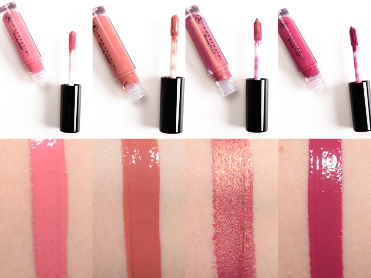 ABH mini lip gloss set - Summer swatches