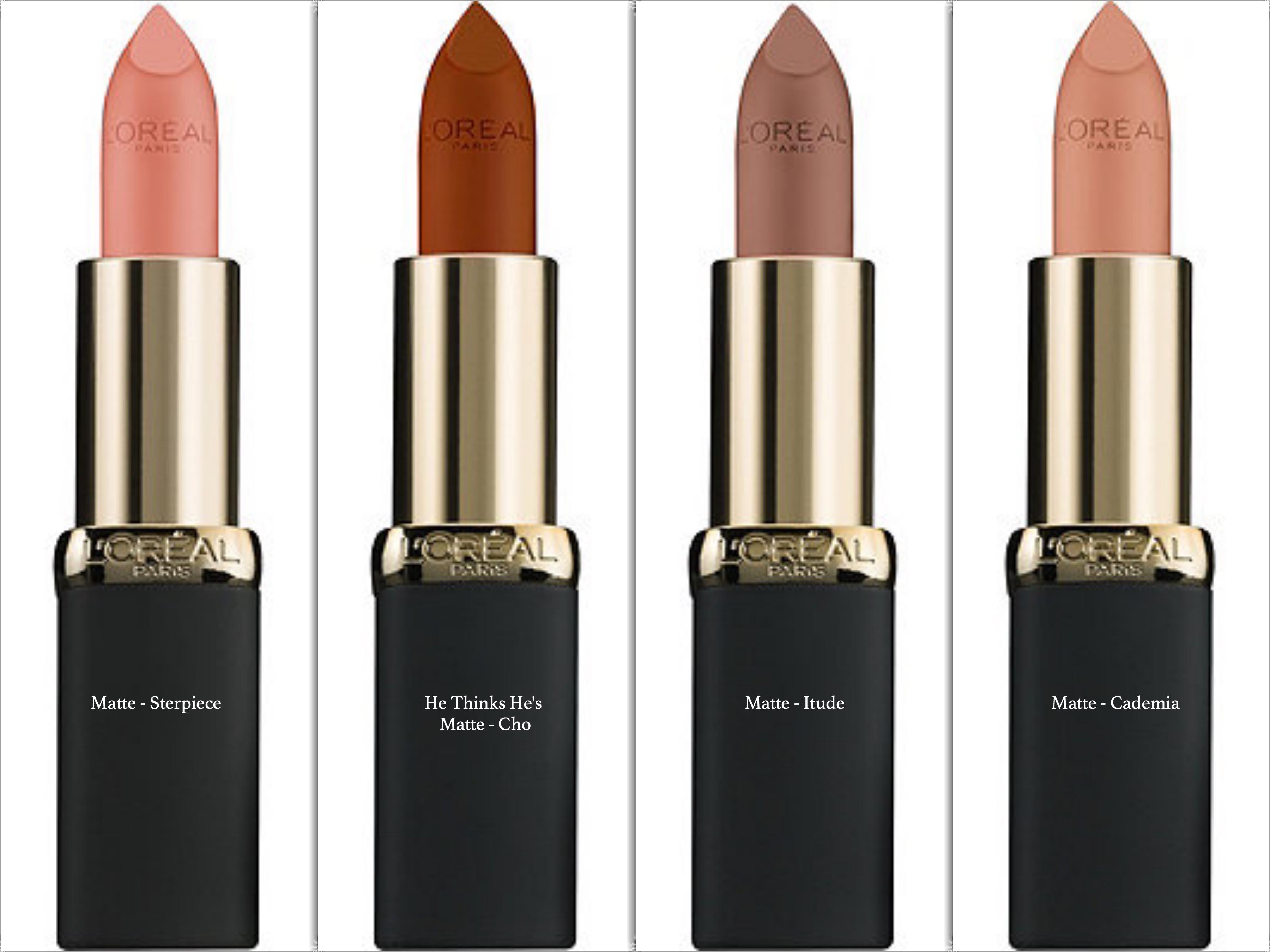 L Oreal Paris Colour Riche Matte Lipcolour Swatches Review Avant Garde