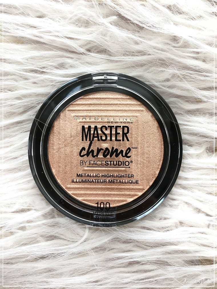 Maybelline Master Chrome Highlighter swatch