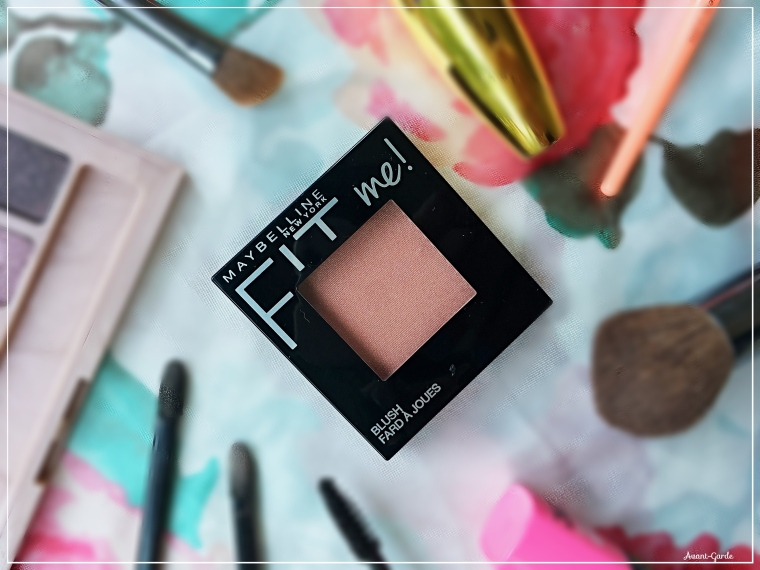 New maybelline fit me blush in peach review