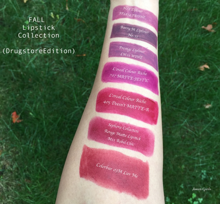 Best drugstore fall lipsticks