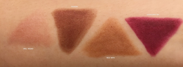 NARS VELVET MATTE LIP PENCIL SWATCHES ON INDIAN SKIN