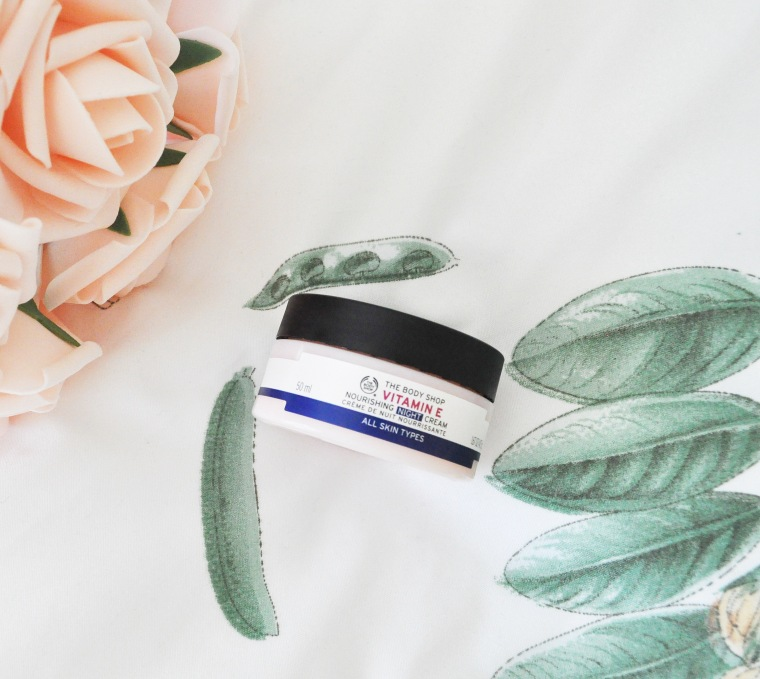 bodyshop vitamin e nightcream review