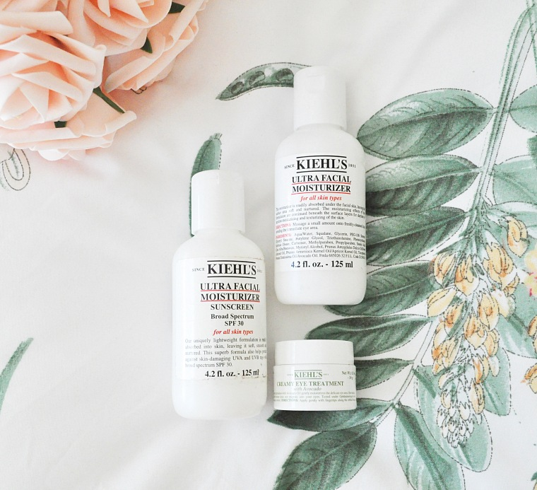 Kiehls winter 2018 skincare
