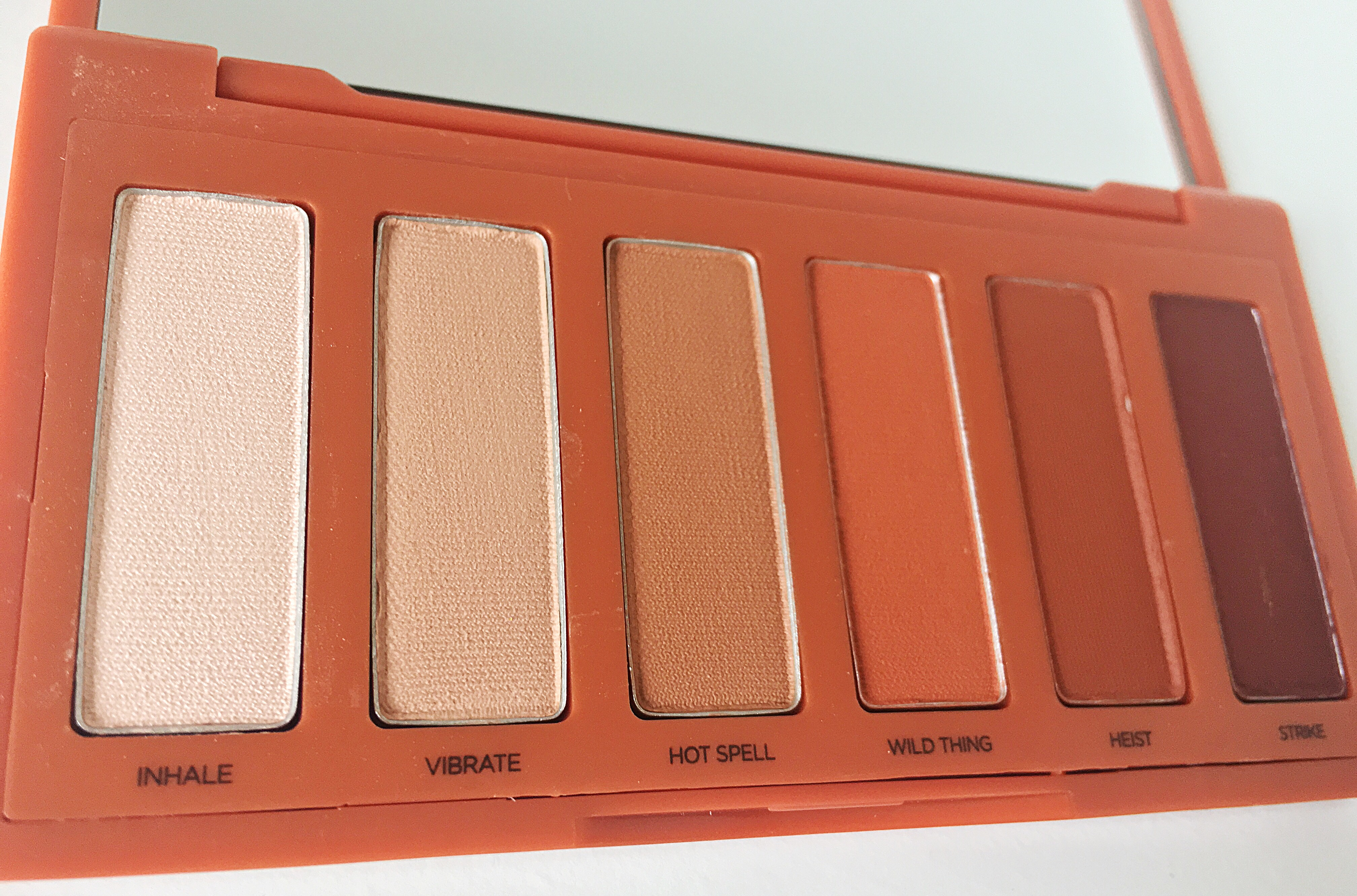 Urban decay eyeshadow pallete on indian skin