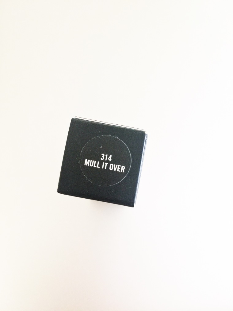 mac mull it over review and swatch
