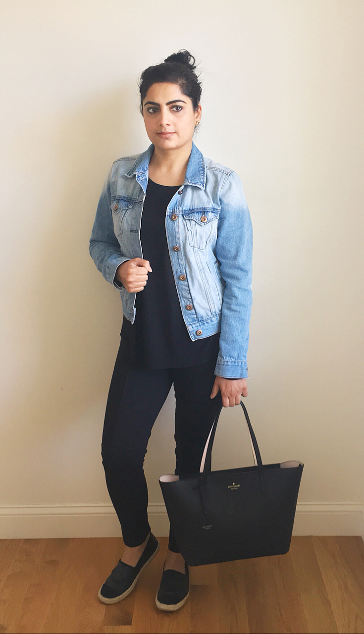 How to wear blue denim jacket