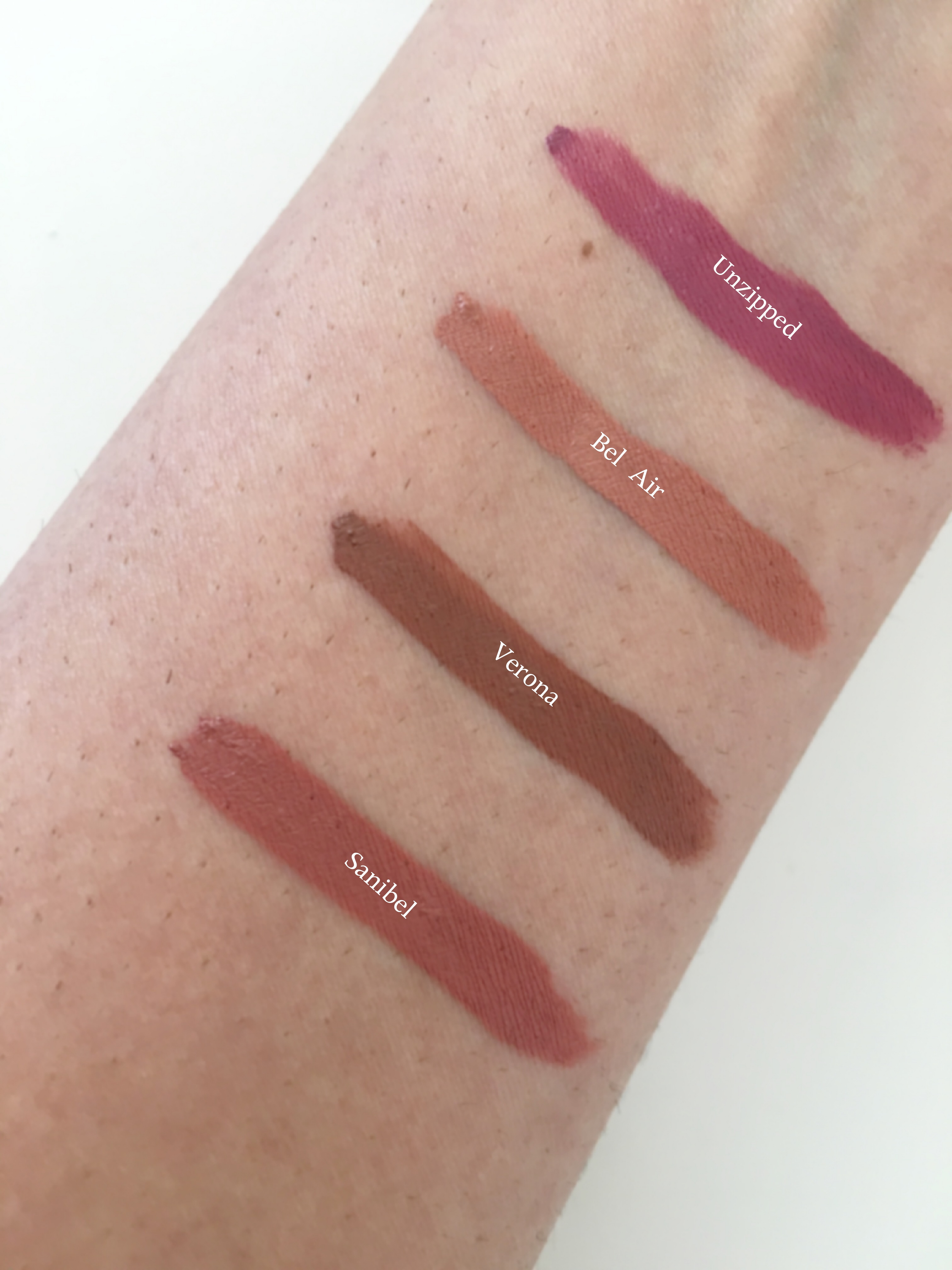 ofra lipstick swatches on indian skin