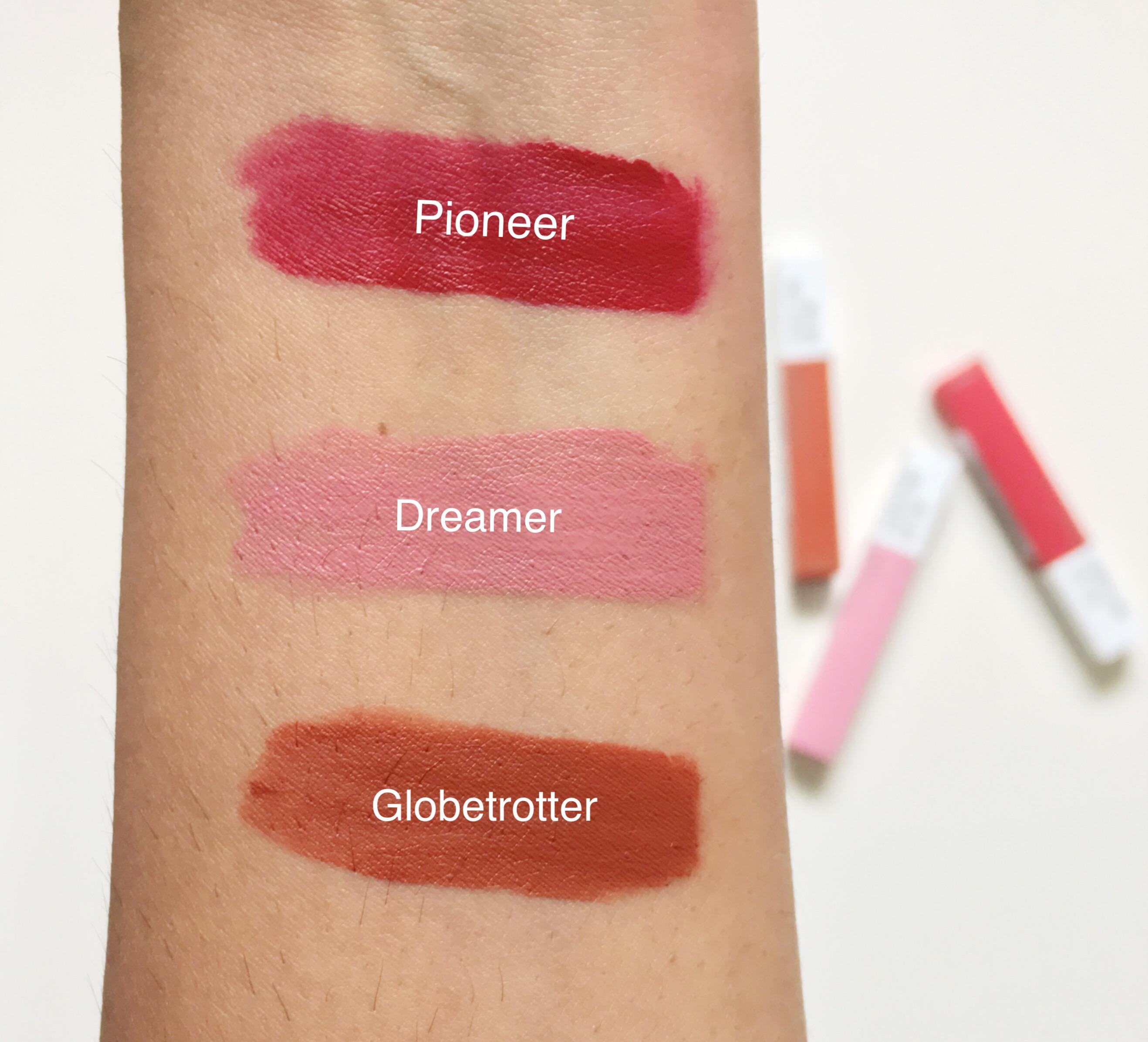 Maybelline Super Stay Matte Ink Liquid Lipsticks Lip